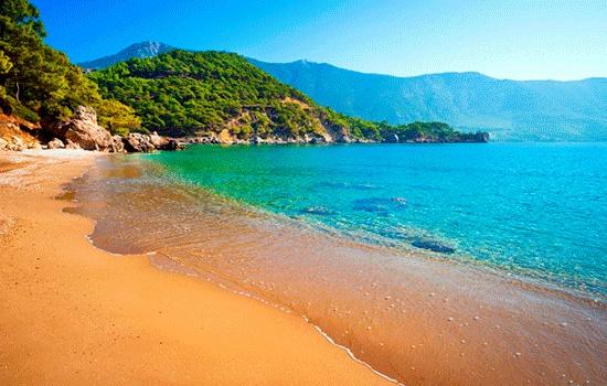 Самый теплый курорт Турции в ноябре
