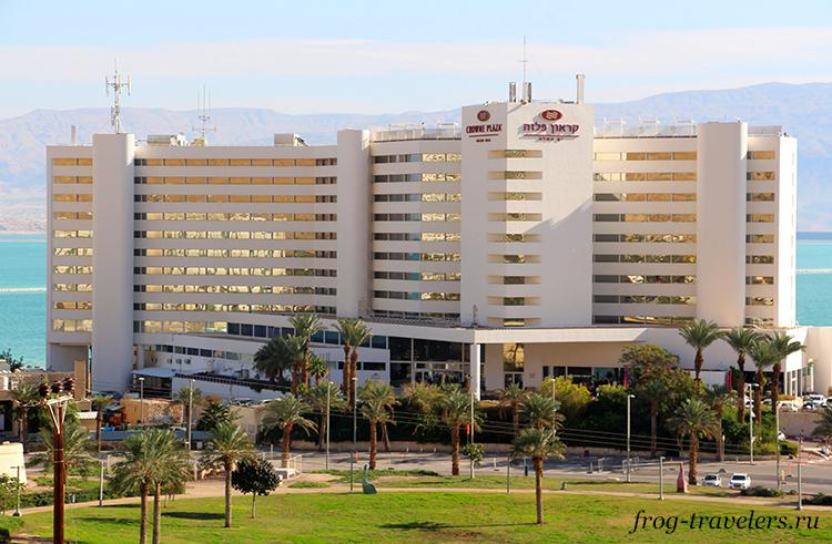 Гостиница Crowne Plaza Dead Sea Hotel 5*